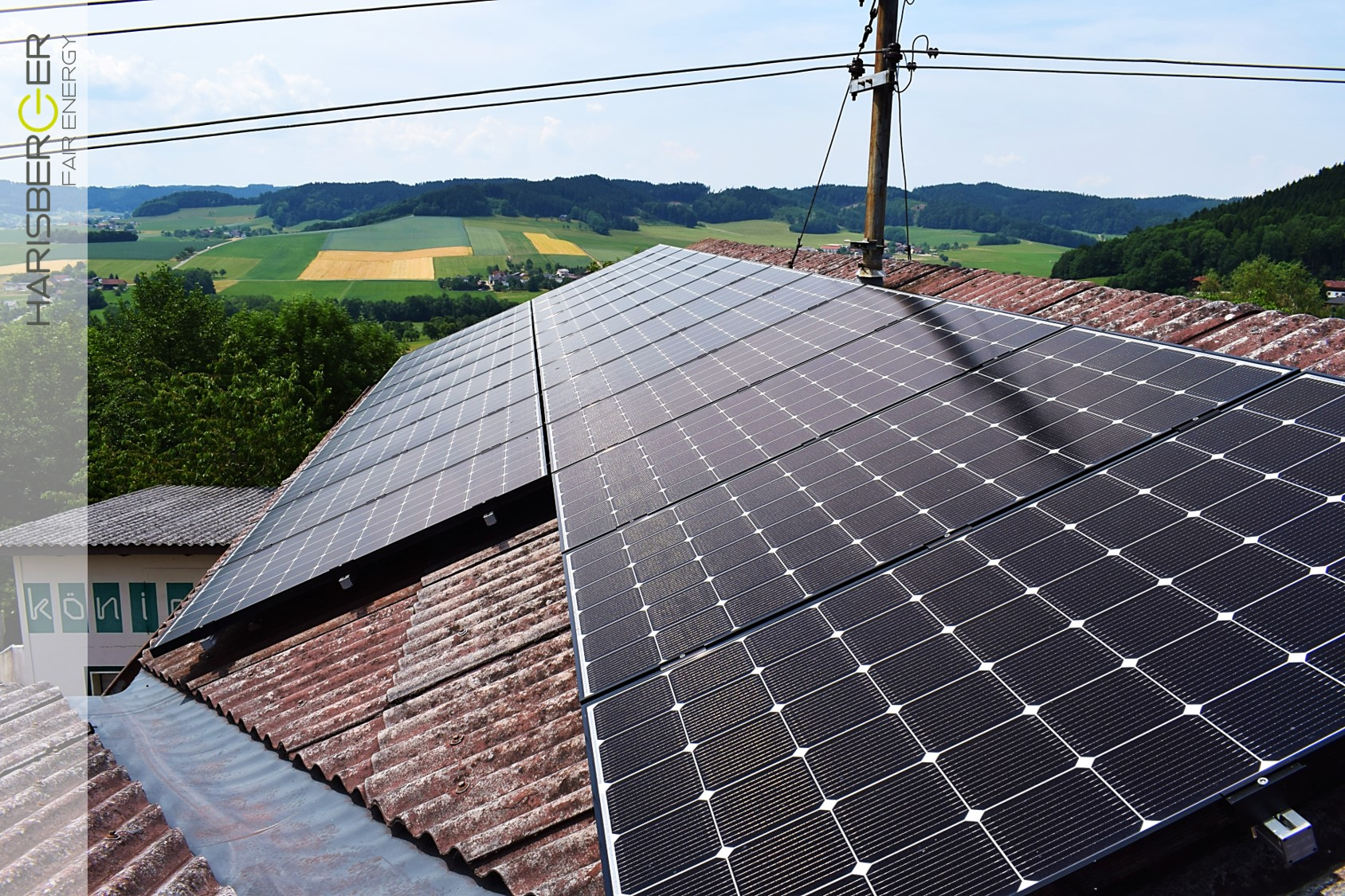 Photovoltaikanlage, König Engineering, Wolfsegg am Hausruck, 7,035 kWp